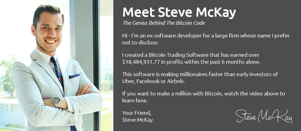 The Bitcoin Code by Steve McKay