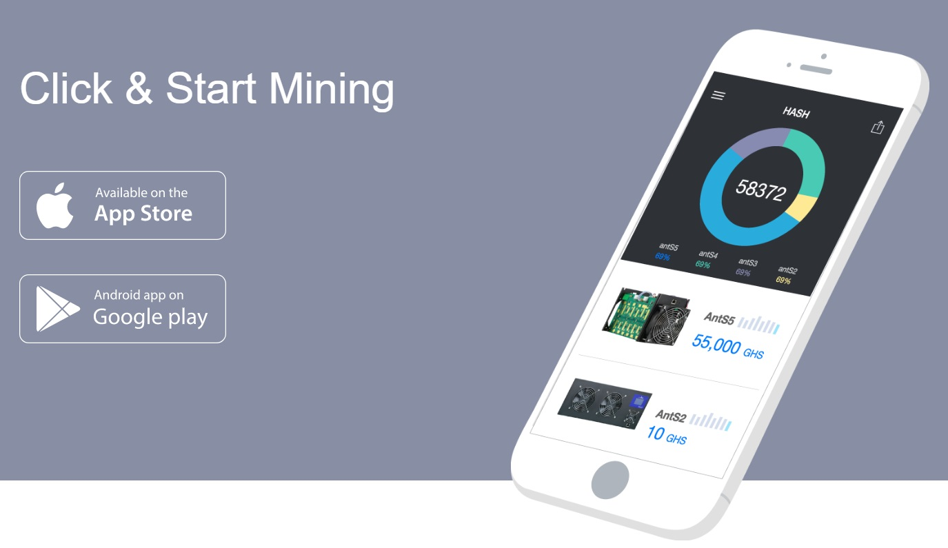 HashNest is available for mobile devices