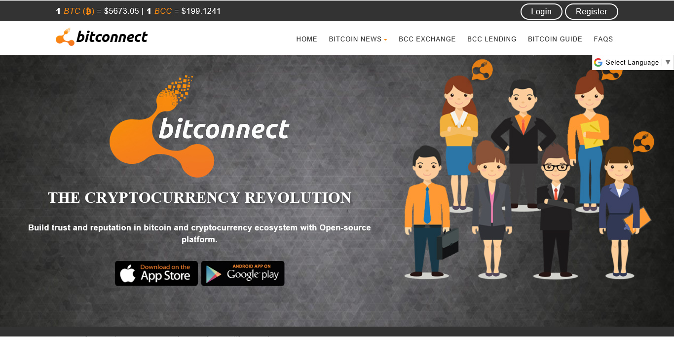 bitconnect promoters cover their asses
