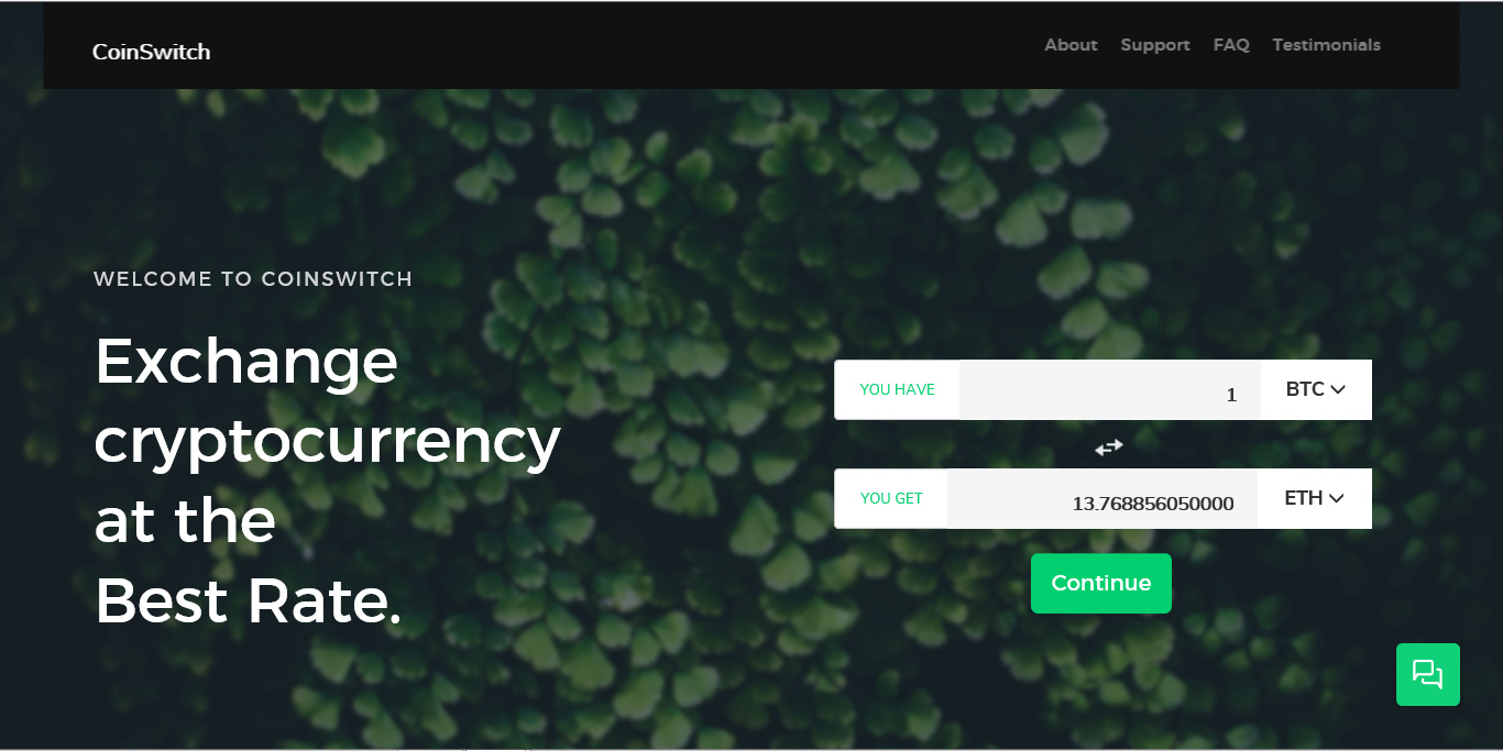 coinswitch.co - CoinSwitch