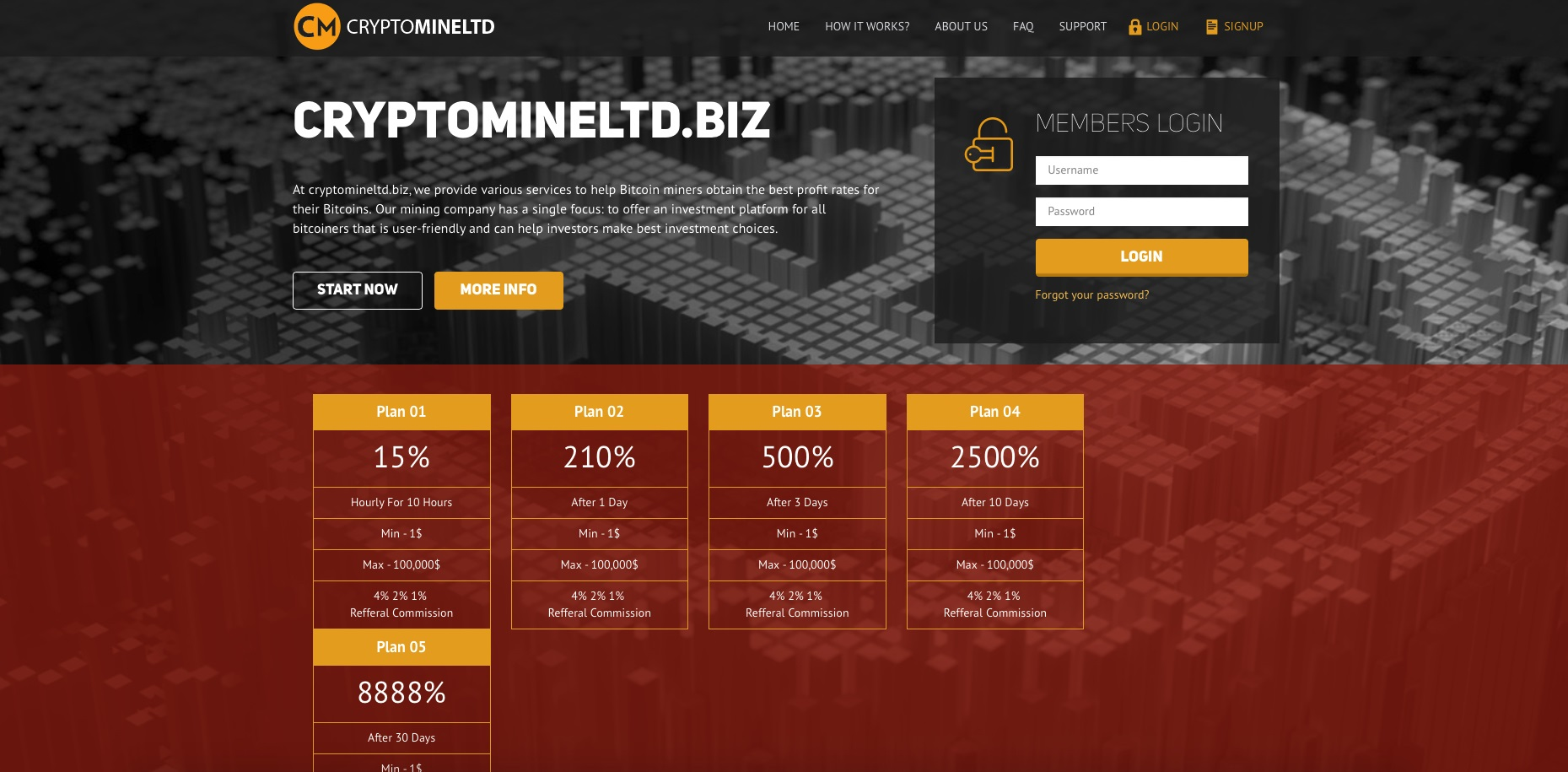 cryptomineltd.biz - Crypto Mine Ltd