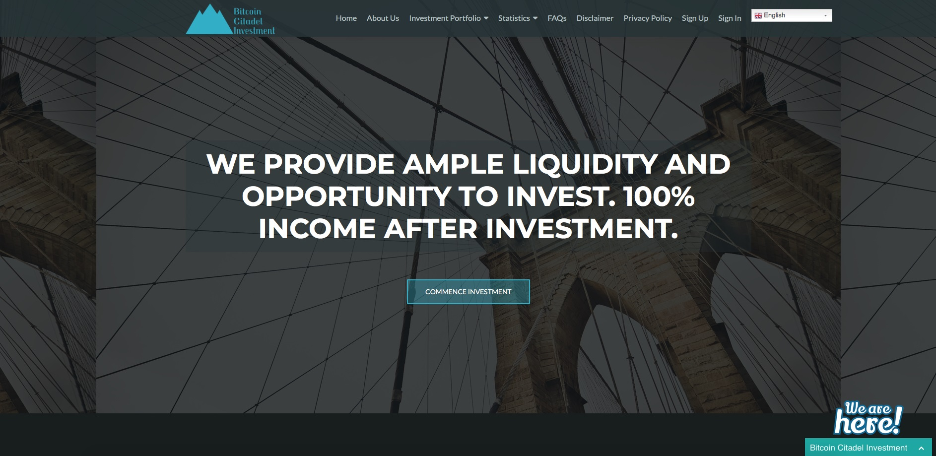 bitcoincitadelinvestment.com - Bitcoin Citadel Investment
