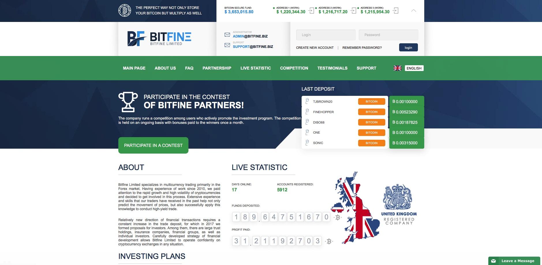 bitfine.biz - BitFine