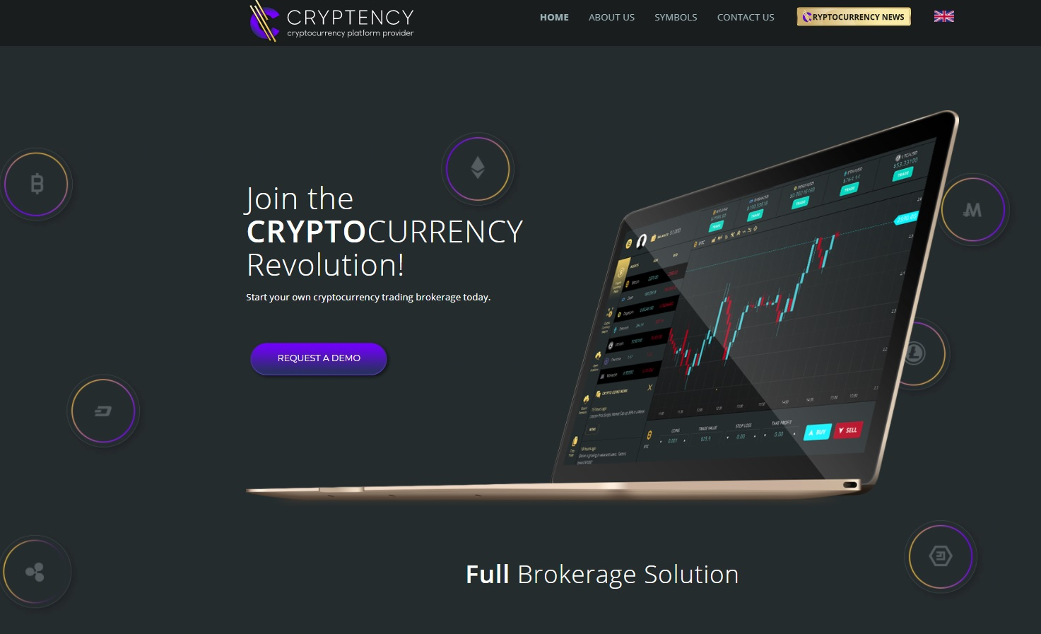 Privatelabel crypto trading platform