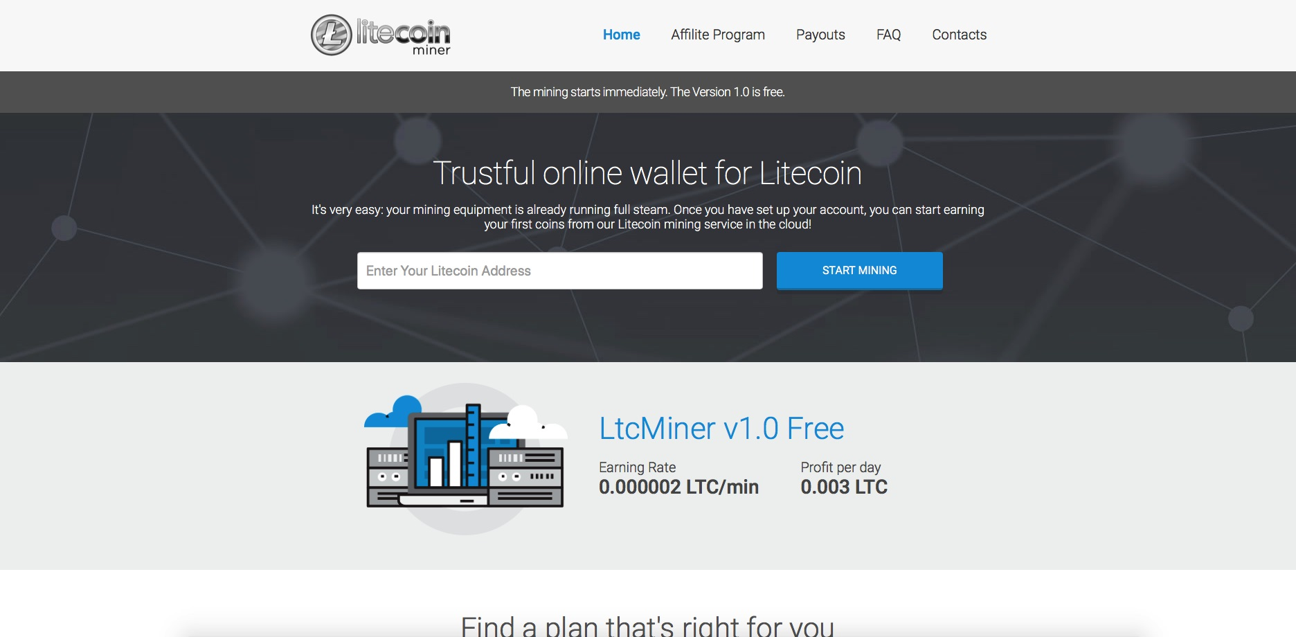 Bitcoin Investment Club Payout Litecoin Mining Required Equipment