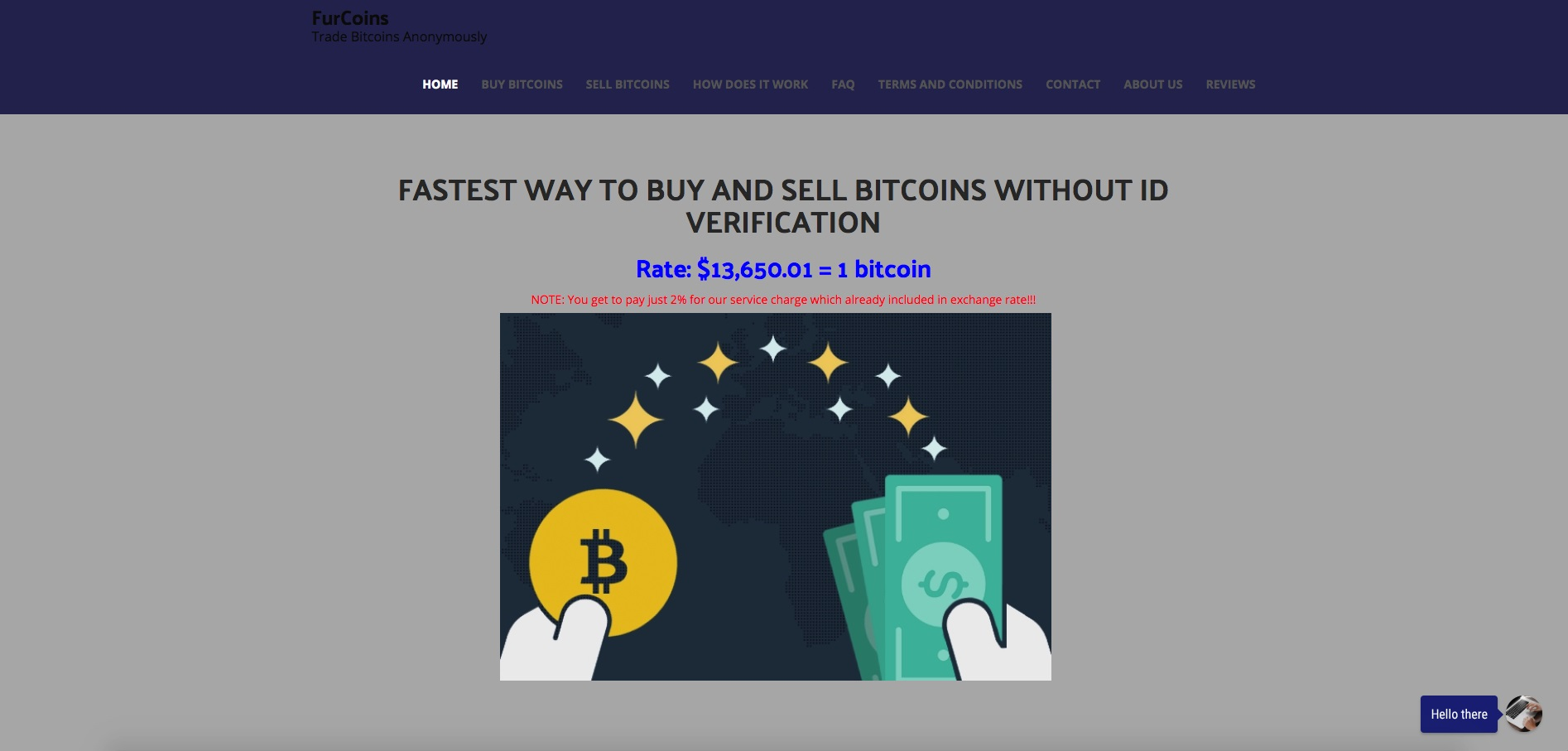 Furcoins review anonymous bitcoin trading hoax scam bitcoin furcoins ccuart Gallery