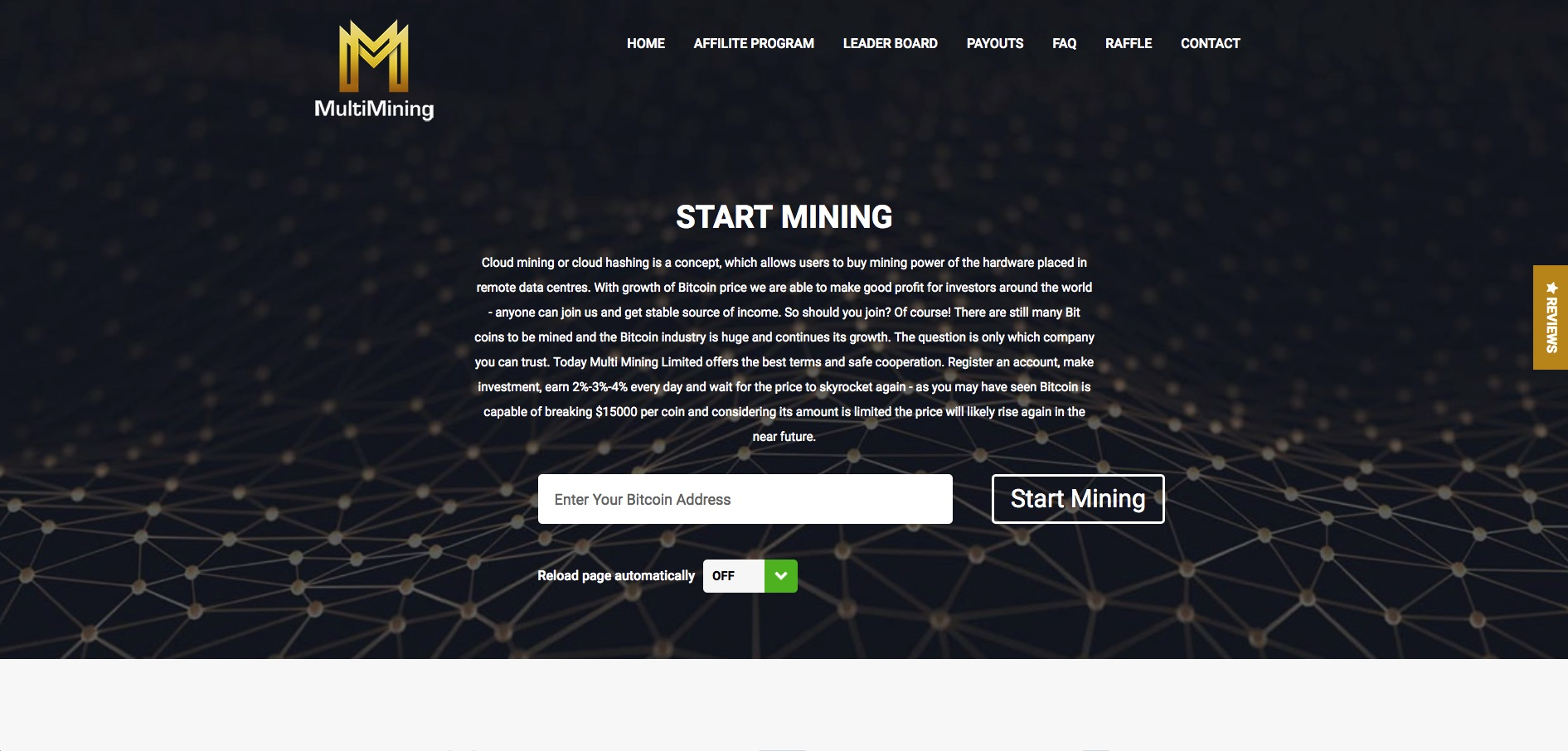 MultiMining Website Review – Cloud Mining Scam Exposed!! | Scam Bitcoin