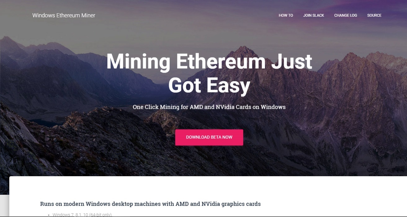 Wineth – Handy Mining Tool (or Ethminer with a GUI & Dev
