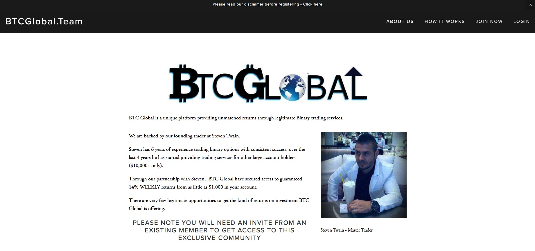 btcglobal.team - BTC Global Team