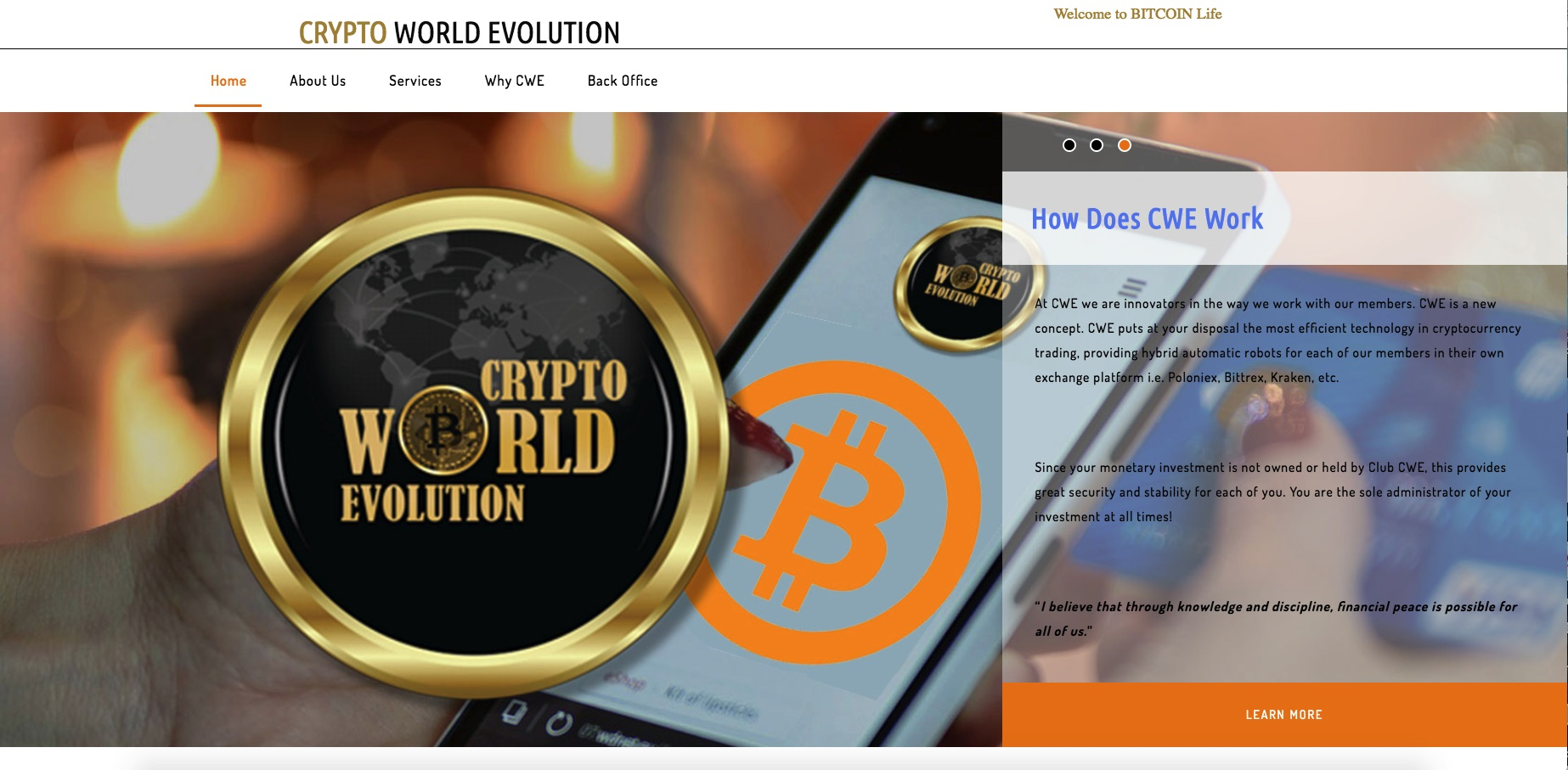 cryptoworldevolution.trade - Crypto World Evolution Trade