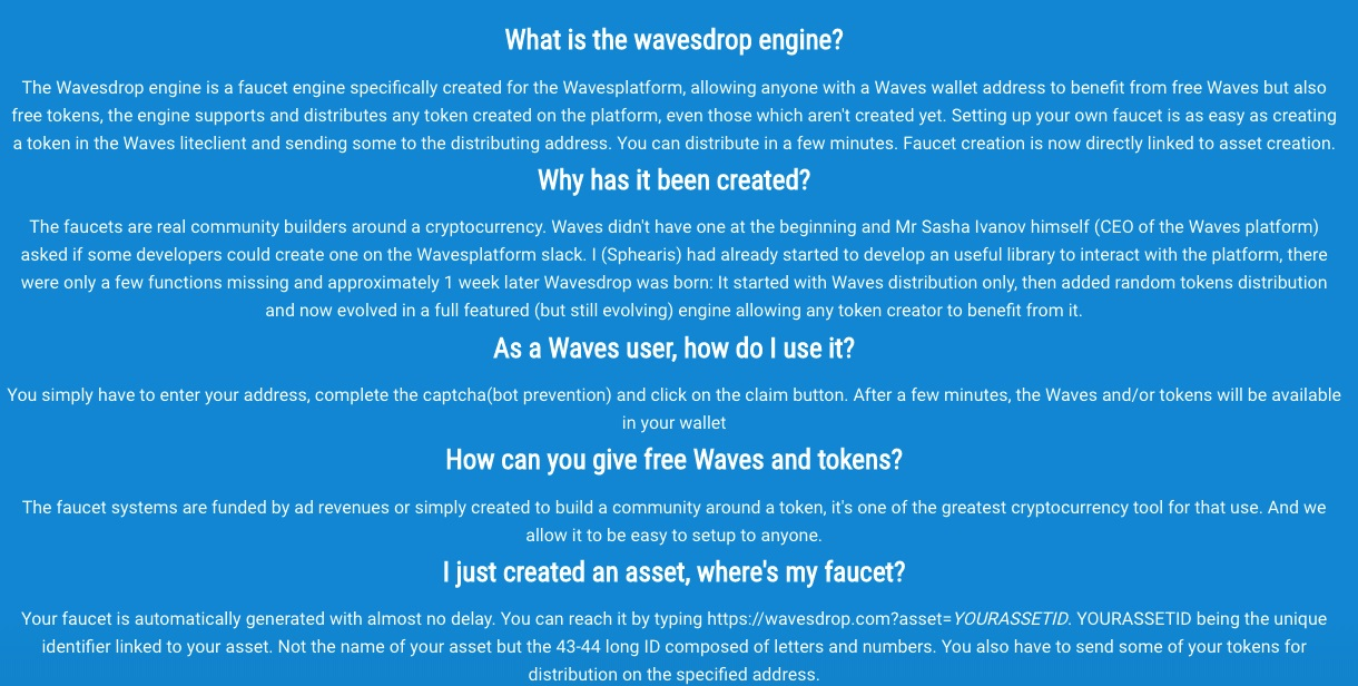 Waves Drop Review – A Once Dependable Crypto Faucet Turned Rogue ...