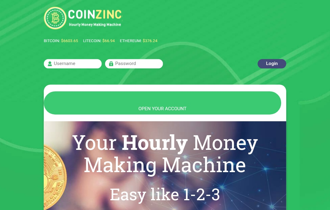 Coinzinc.com - Scam Review