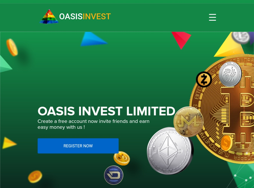 Oasisinvestltd.com - Scam Review