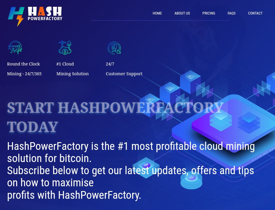 Hashpowerfactory.io - Review