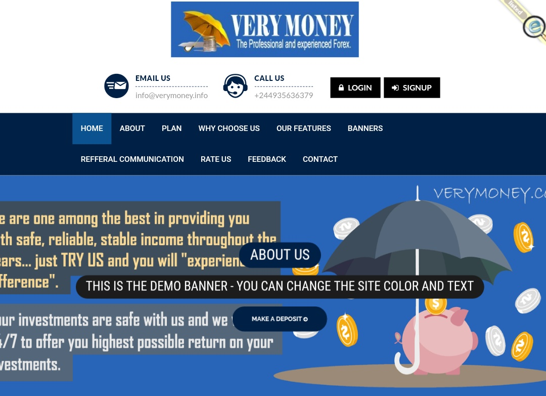 Verymoney.info - Scam Review
