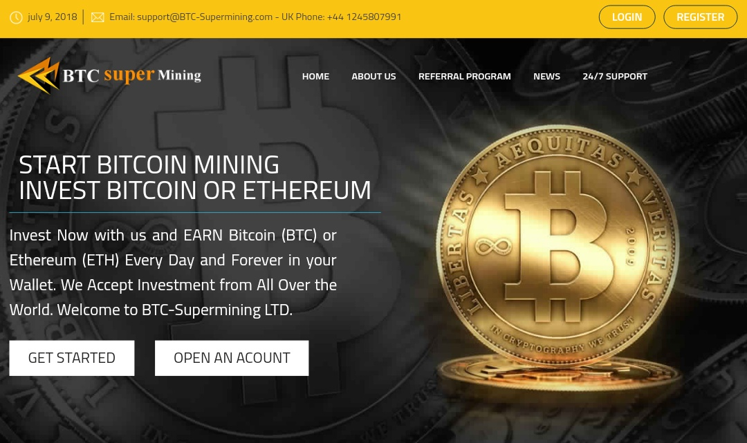 Btc-supermining.com - Scam Review