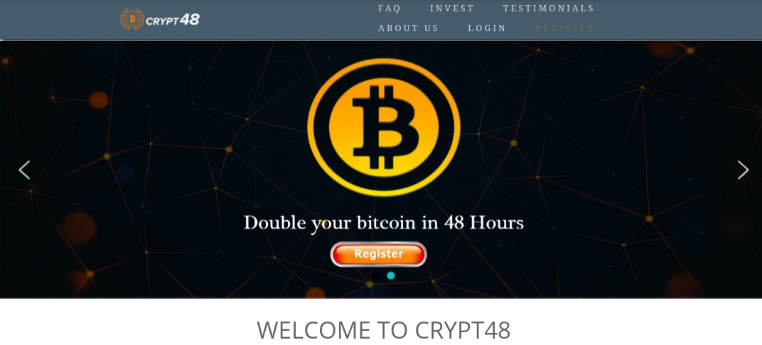 Crypt48.com - Scam Review