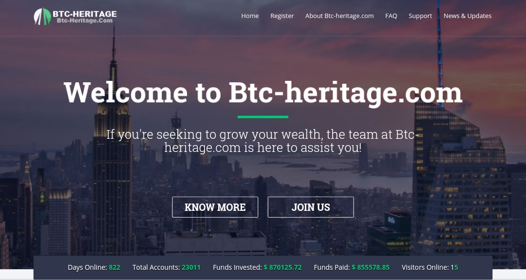 BTC Heritage Review