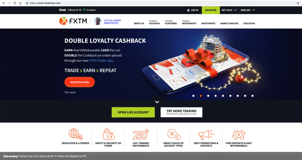ForexTime com Review – Is FXTM a Safe Brokerage for 2019