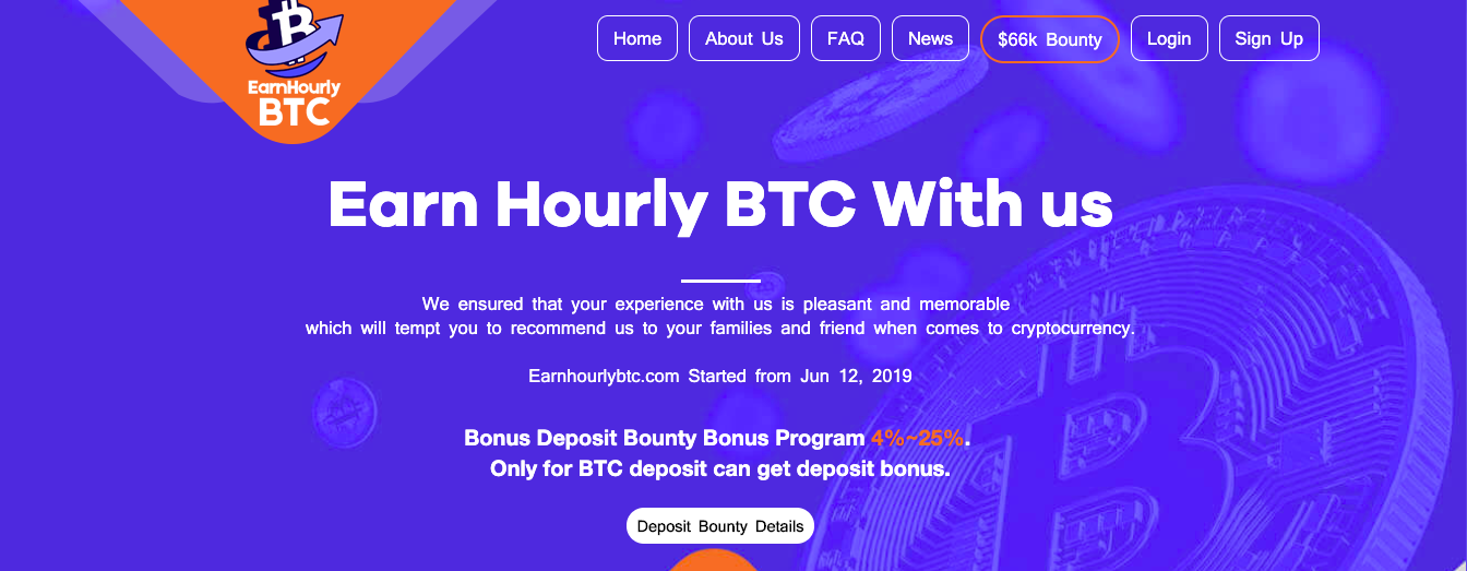 Earn Hourly BTC Review