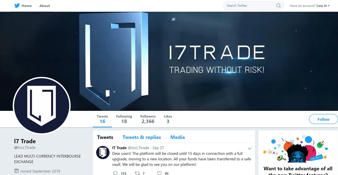 L7 Trade on Twitter